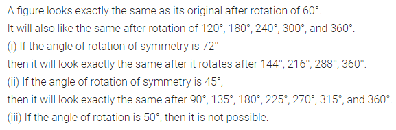 ML Aggarwal Class 7 Solutions for ICSE Maths Chapter 14 Symmetry Ex 14.2 Q7