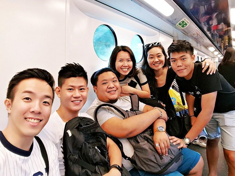 9 November 2015: Disneyland Resort Line | Lantau Island, Hong Kong