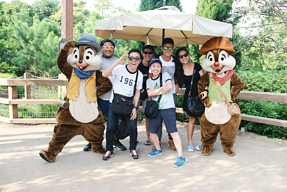 9 November 2015: Grizzly Gulch @ Hong Kong Disneyland | Lantau Island, Hong Kong