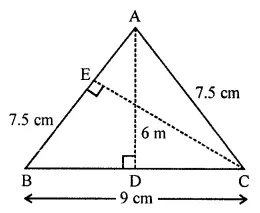 ML Aggarwal Class 7 Solutions for ICSE Maths Chapter 16 Perimeter and Area Ex 16.2 Q6