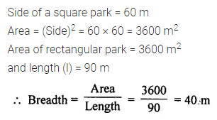 ML Aggarwal Class 7 Solutions for ICSE Maths Chapter 16 Perimeter and Area Ex 16.1 Q6
