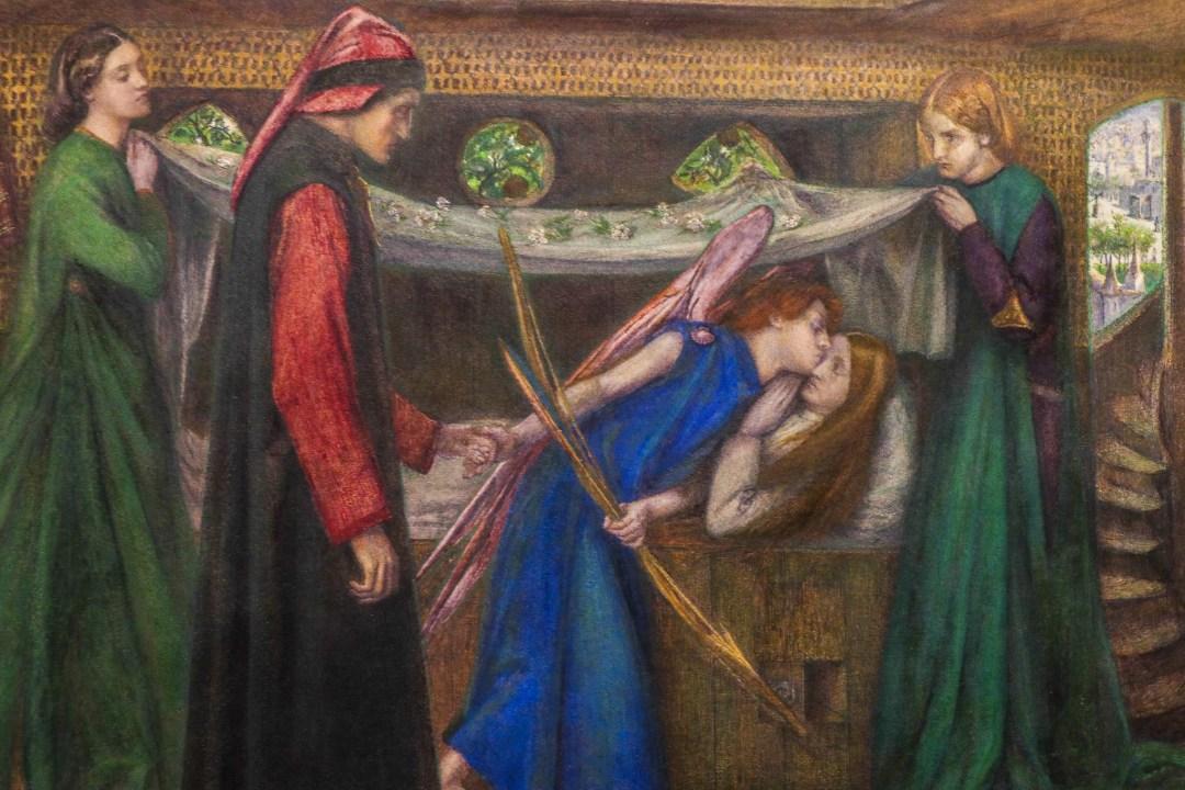 Dante's Dream at the Time of the Death of Beatrice, Dante Gabriel Rossetti