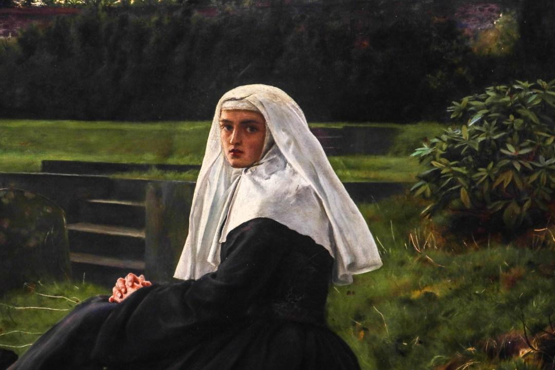 La valle del riposo, John Everett Millais (dettaglio)