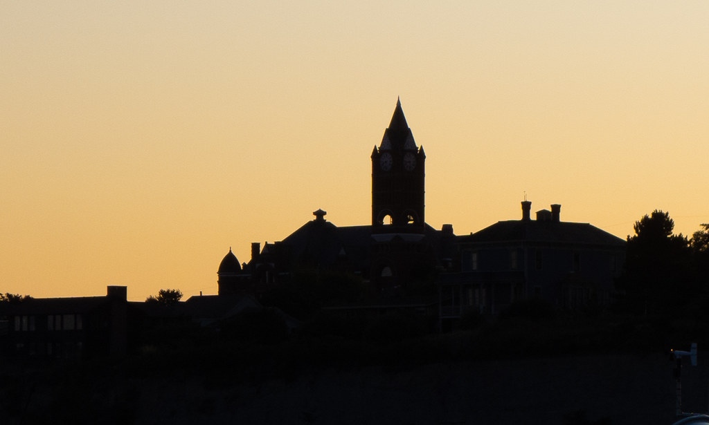 Port Townshend Silhouette