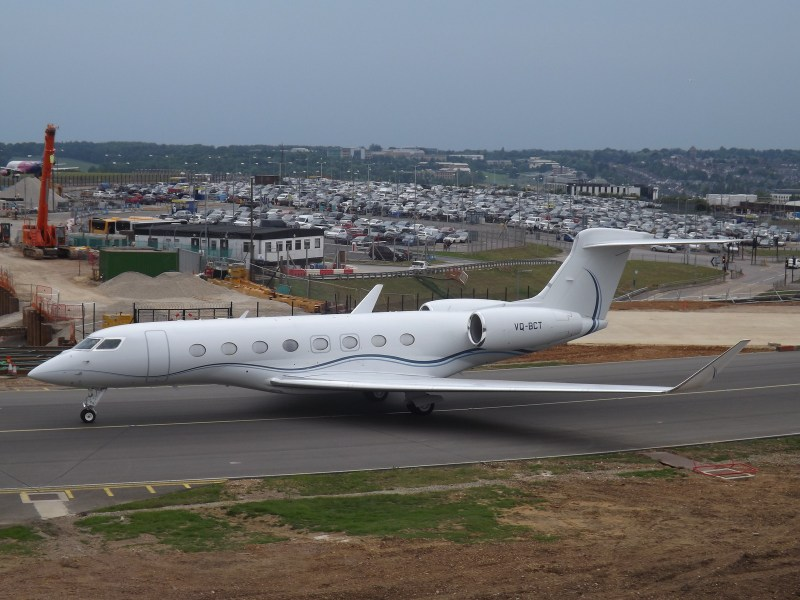 VQ-BCT Gulfstream G650ER (Private Owner)