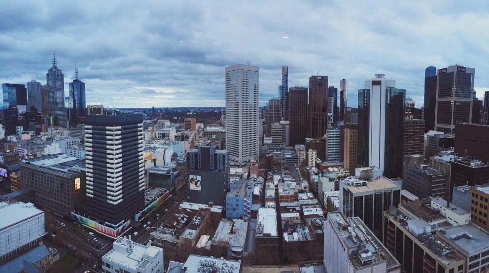 30 June 2016: City view from JC's apartment | Melbourne CBD, Australia