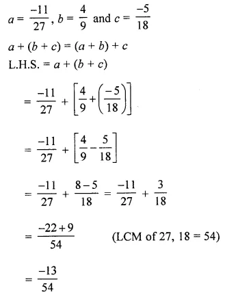 ICSE Mathematics Class 8 Solutions Chapter 1 Rational Numbers Ex 1.1 Q8