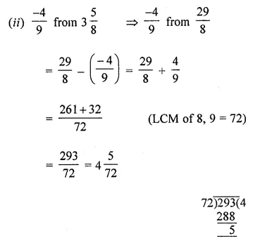 ML Aggarwal Class 8 Solutions Chapter 1 Rational Numbers Ex 1.2 Q1.2