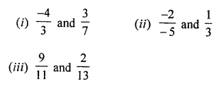 ML Aggarwal Class 8 Solutions for ICSE Maths Chapter 1 Rational Numbers Ex 1.1 Q3