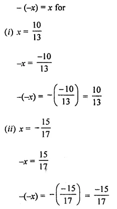 ML Aggarwal Class 8 Solutions for ICSE Maths Chapter 1 Rational Numbers Ex 1.1 Q5