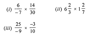 ML Aggarwal Class 8 Solutions for ICSE Maths Chapter 1 Rational Numbers Ex 1.3 Q1