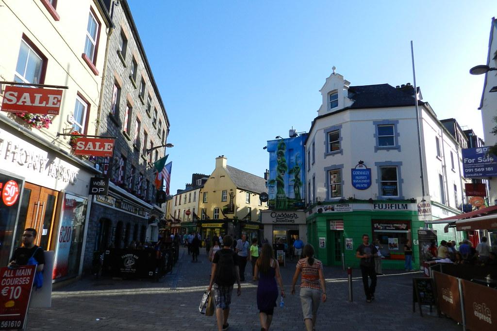 calles casas de Galway Republica de Irlanda 04