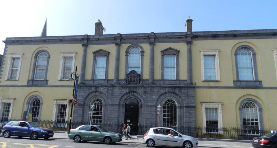 edificio Ayuntamiento Waterford Republica de Irlanda