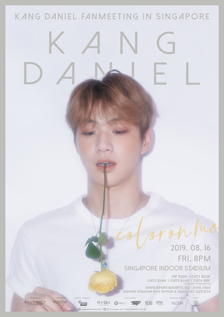 Kang Daniel 'Color On Me' Fan Meeting in Singapore