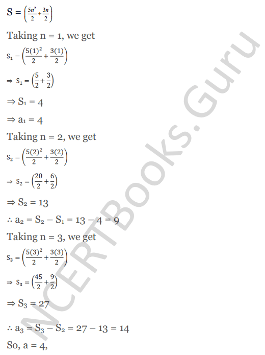 KC Sinha Maths Solution Class 10 Chapter 8 - Arithmetic Progressions (AP) - 111