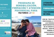 Nuevo Programa de Atención Psicosocial para Personas Mayores LGTBI  en el norte de la isla