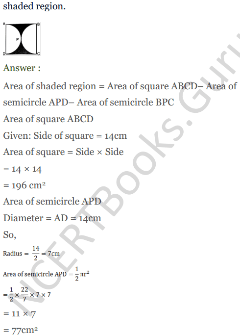 KC Sinha Maths Solutions Class 10 Chapter 13.Areas Related to circles - Ex 13 - 37
