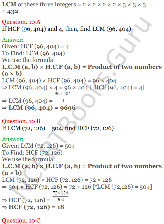 KC Sinha Maths Solutions Class 10 Chapter 1 Real Numbers Ex 1.2 - 26