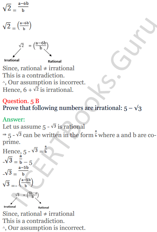 KC Sinha Maths Solutions Class 10 Chapter 1 Real Numbers Ex 1.3 - 6