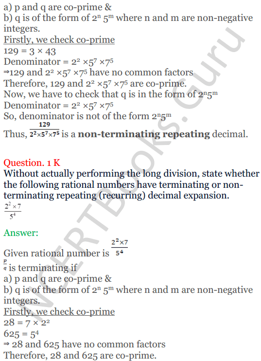 KC Sinha Maths Solutions Class 10 Chapter 1 Real Numbers Ex 1.4 - 8