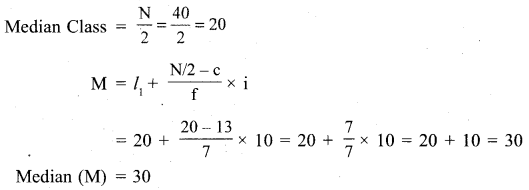 RBSE Solutions for Class 11 Economics Chapter 9 Median 4