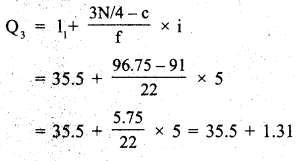 RBSE Solutions for Class 11 Economics Chapter 9 Median 6