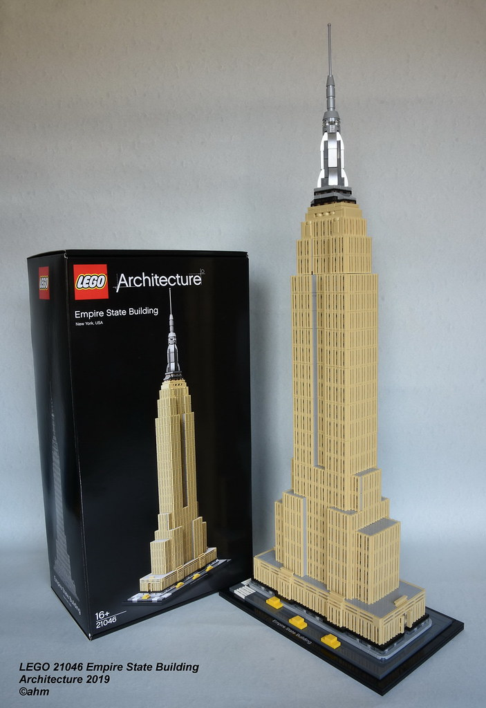 Lego 21046 Empire State Building Lego 21046 Empire State B Flickr