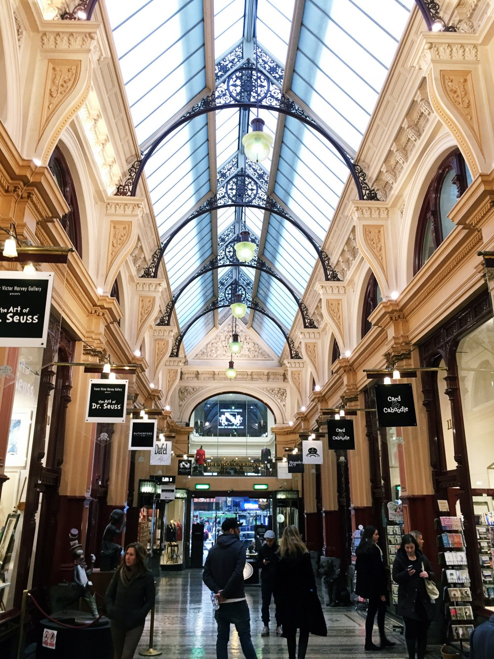 1 July 2016: Block Arcade | Melbourne CBD, Australia