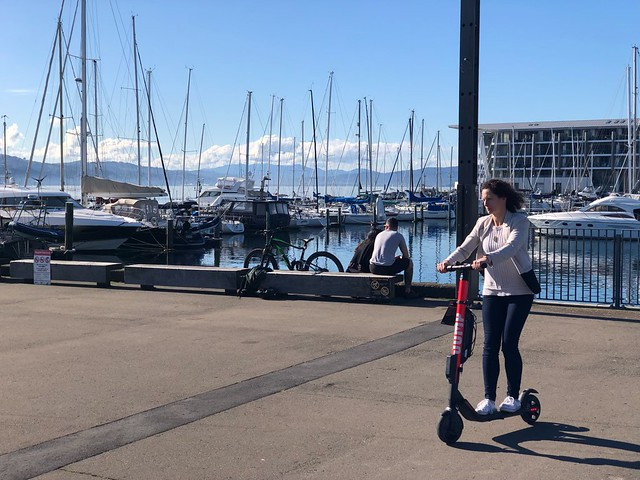 Jump e-Scooter in Wellington