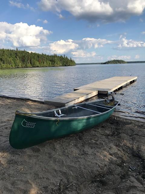 Fushimi Lake Provincial Park - Canoe and dock