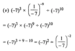 ML Aggarwal Class 8 Solutions for ICSE Maths Chapter 2 Exponents and Powers Ex 2.1 Q8.3