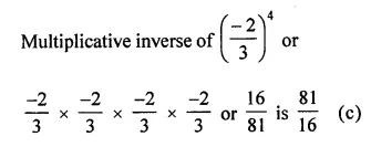 ICSE Understanding Mathematics Class 8 Solutions Chapter 2 Exponents and Powers Objective Type Questions Q10