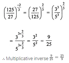 ICSE Class 8 Maths Book Solutions Free Download Pdf Chapter 2 Exponents and Powers Check Your Progress Q3