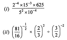 ML Aggarwal Class 8 Solutions for ICSE Maths Chapter 2 Exponents and Powers Check Your Progress Q4