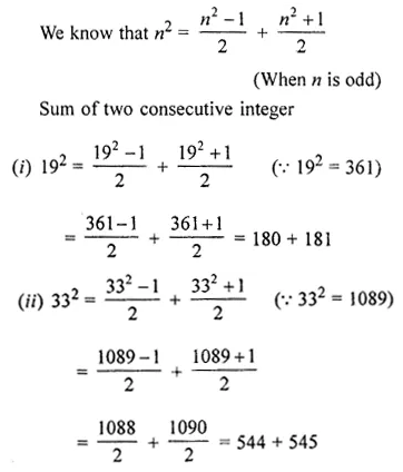ML Aggarwal Class 8 Solutions for ICSE Maths Chapter 3 Squares and Square Roots Ex 3.2 Q8