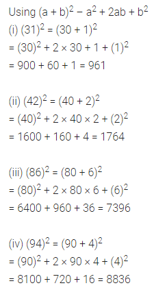 ML Aggarwal Class 8 Solutions for ICSE Maths Chapter 3 Squares and Square Roots Ex 3.2 Q9