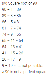 ICSE Mathematics Class 8 Solutions Chapter 3 Squares and Square Roots Ex 3.3 Q1.2