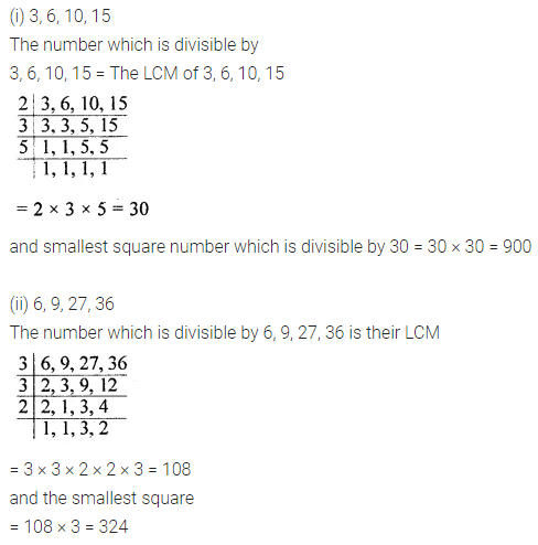 ML Aggarwal Class 8 Solutions for ICSE Maths Chapter 3 Squares and Square Roots Ex 3.3 Q6