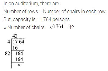 Maths Questions for Class 8 ICSE With Answers Chapter 3 Squares and Square Roots Check Your Progress Q7