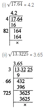 ICSE Understanding Mathematics Class 8 Solutions Chapter 3 Squares and Square Roots Check Your Progress Q12