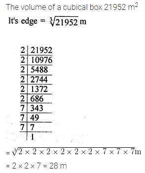 ICSE Class 8 Maths Book Solutions Free Download Pdf Chapter 4 Cubes and Cube Roots Ex 4.2 Q9