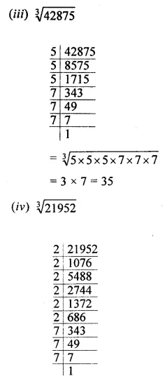 APC Maths Class 8 Solutions Chapter 4 Cubes and Cube Roots Ex 4.2 Q1.1