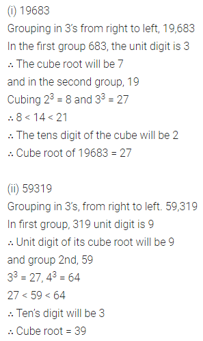 ML Aggarwal Class 8 Solutions for ICSE Maths Chapter 4 Cubes and Cube Roots Ex 4.2 Q2