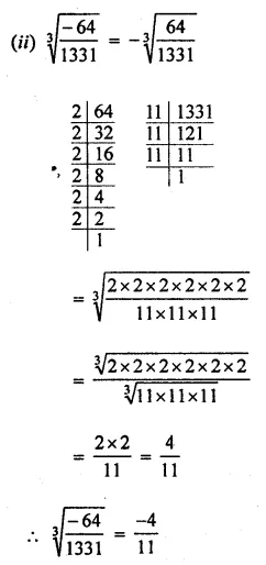 ICSE Understanding Mathematics Class 8 Solutions Chapter 4 Cubes and Cube Roots Ex 4.2 Q3.2
