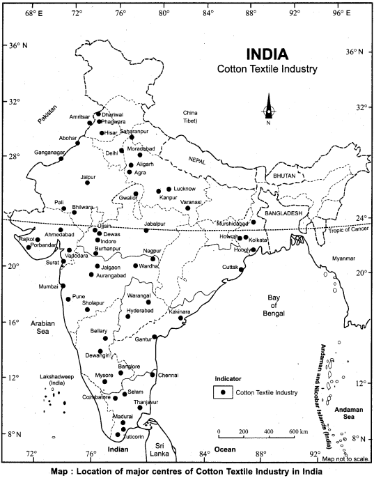 RBSE Solutions for Class 12 Geography Chapter 19 Industry 9