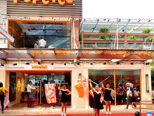 Popeyes Alabang Town Center Media Launch