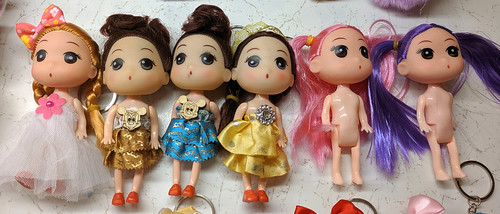 Confused Keychain Dolls - Kelly size