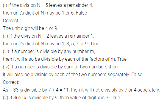 ML Aggarwal Class 8 Solutions Chapter 5 Playing with Numbers Objective Type Questions Q2