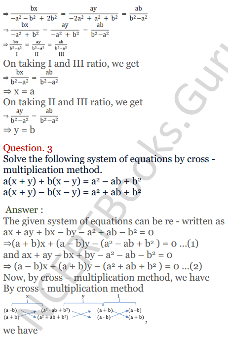 KC Sinha Maths Solutions Class 10 Chapter 3 Pair of Linear Equations in Two Variables Ex 3.4 - 12