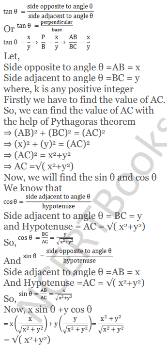 KC Sinha Maths Solutions Class 10 Chapter 4 Trigonometric Ratios and Identities Ex 4.1 - 76